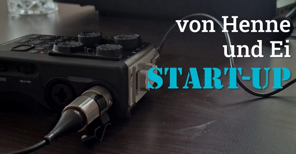 """Folge 135 des Podcasts """"Aus dem Maschinenraum für Marketing & Vertrieb"""": von Henne und Ei - Start-Up"""